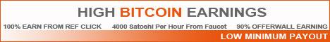 High Bitcoin Earnings